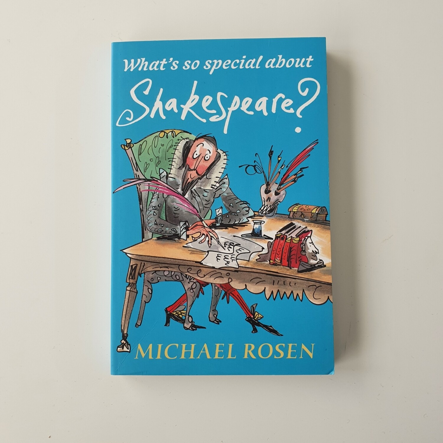 What's so special about Shakespeare? made from a paperback book