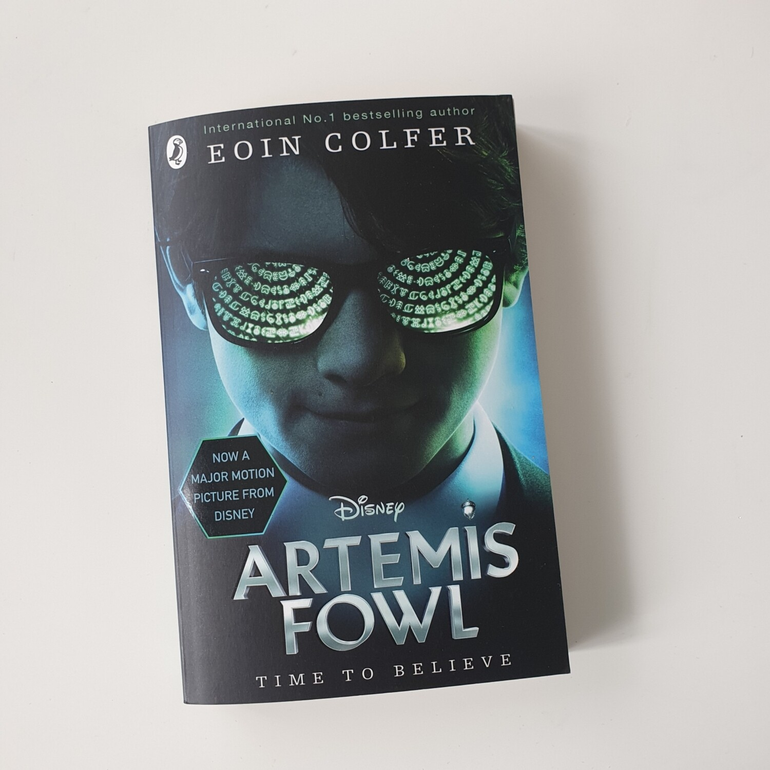 Artemis Fowl Notebook - made from a paperback book