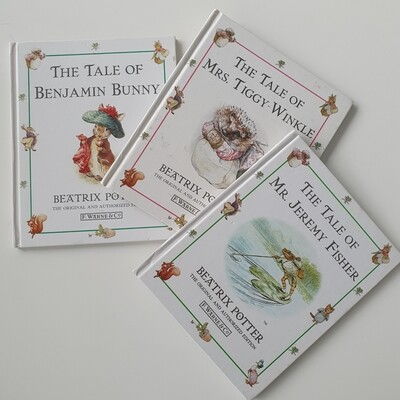 Beatrix Potter - choose from a selection - Peter Rabbit