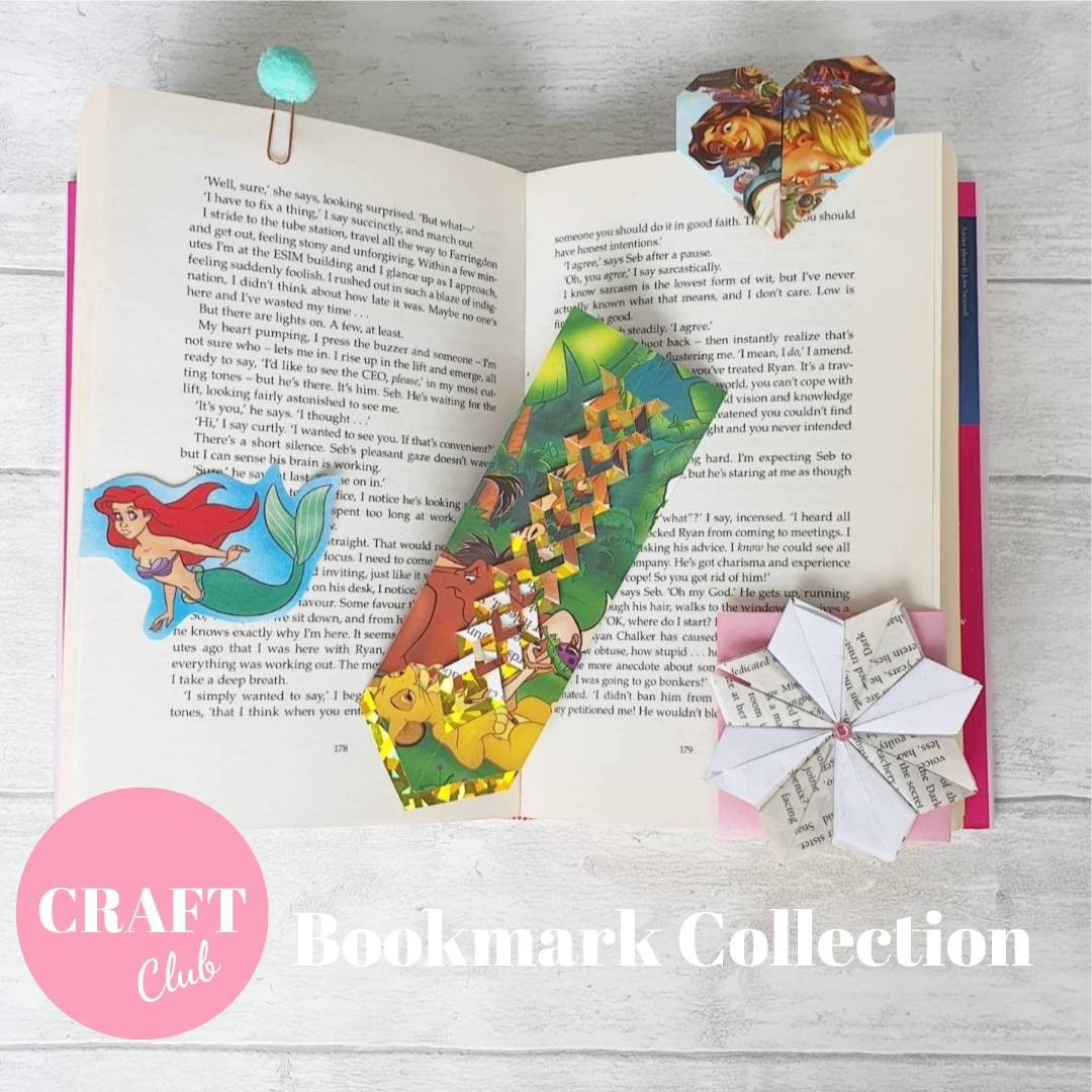Bookmark Collection - SEPTEMBER's CRAFT CLUB - free UK postage