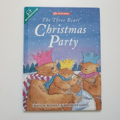 The Three Bears' Christmas Party