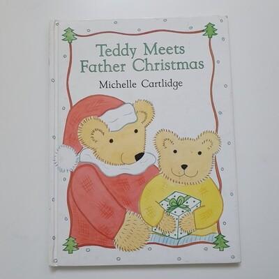 Teddy Meets Father Christmas