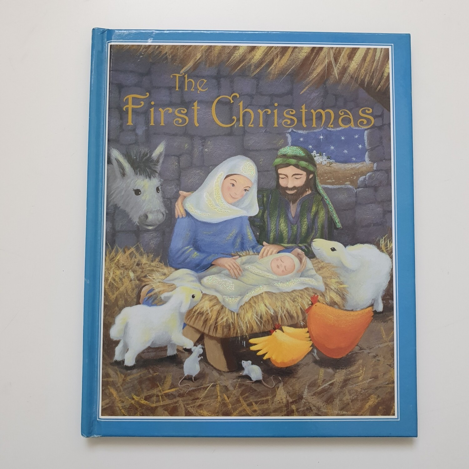 The First Christmas - Glitter Cover