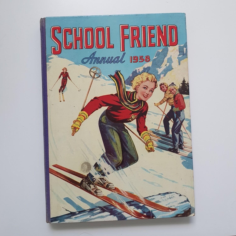 School Friend 1958 - skiing