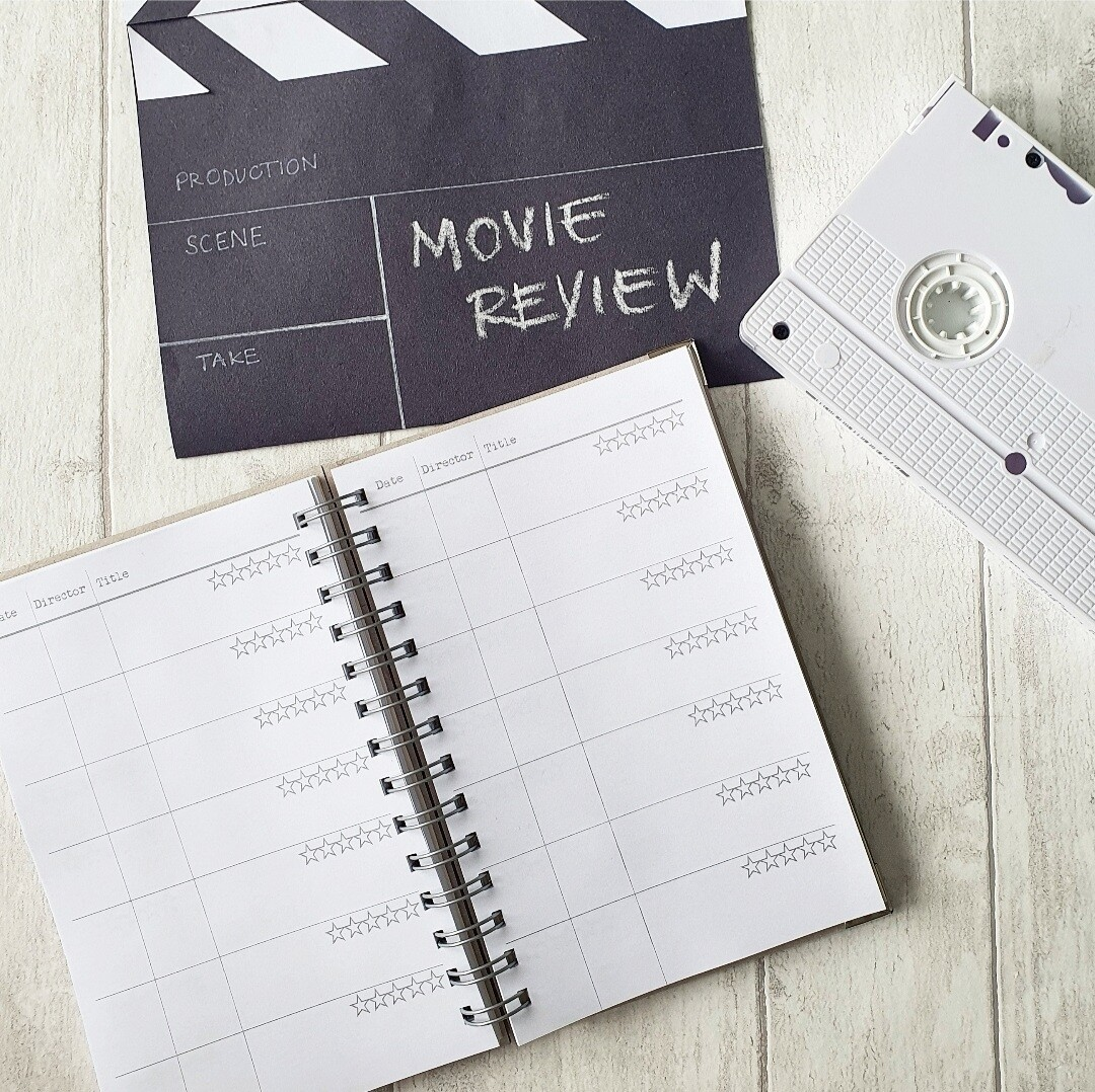 Movie Review / Film Review Record Book