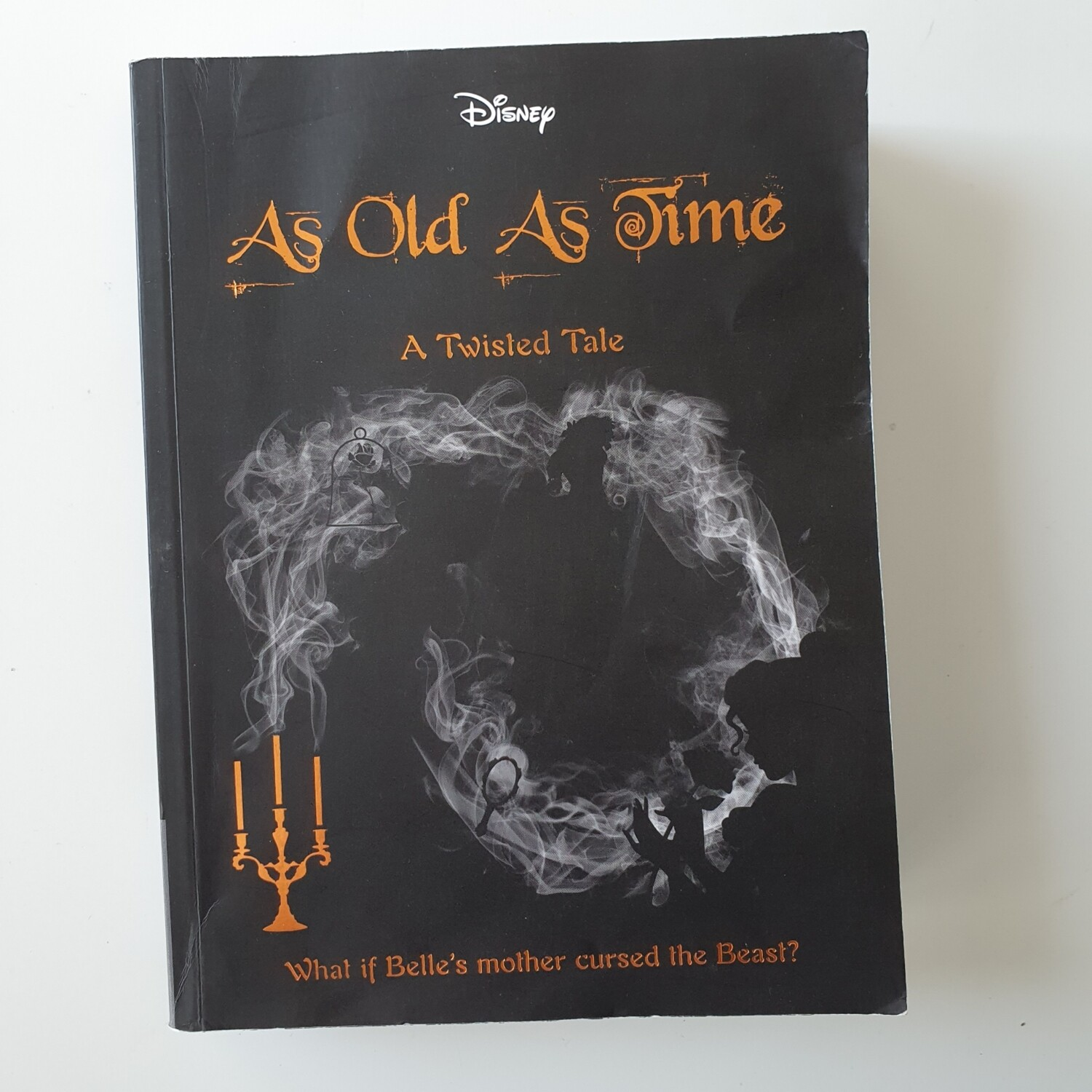 Disney Twisted Tale - Tale as Old as Time Notebook - made from a paperback book