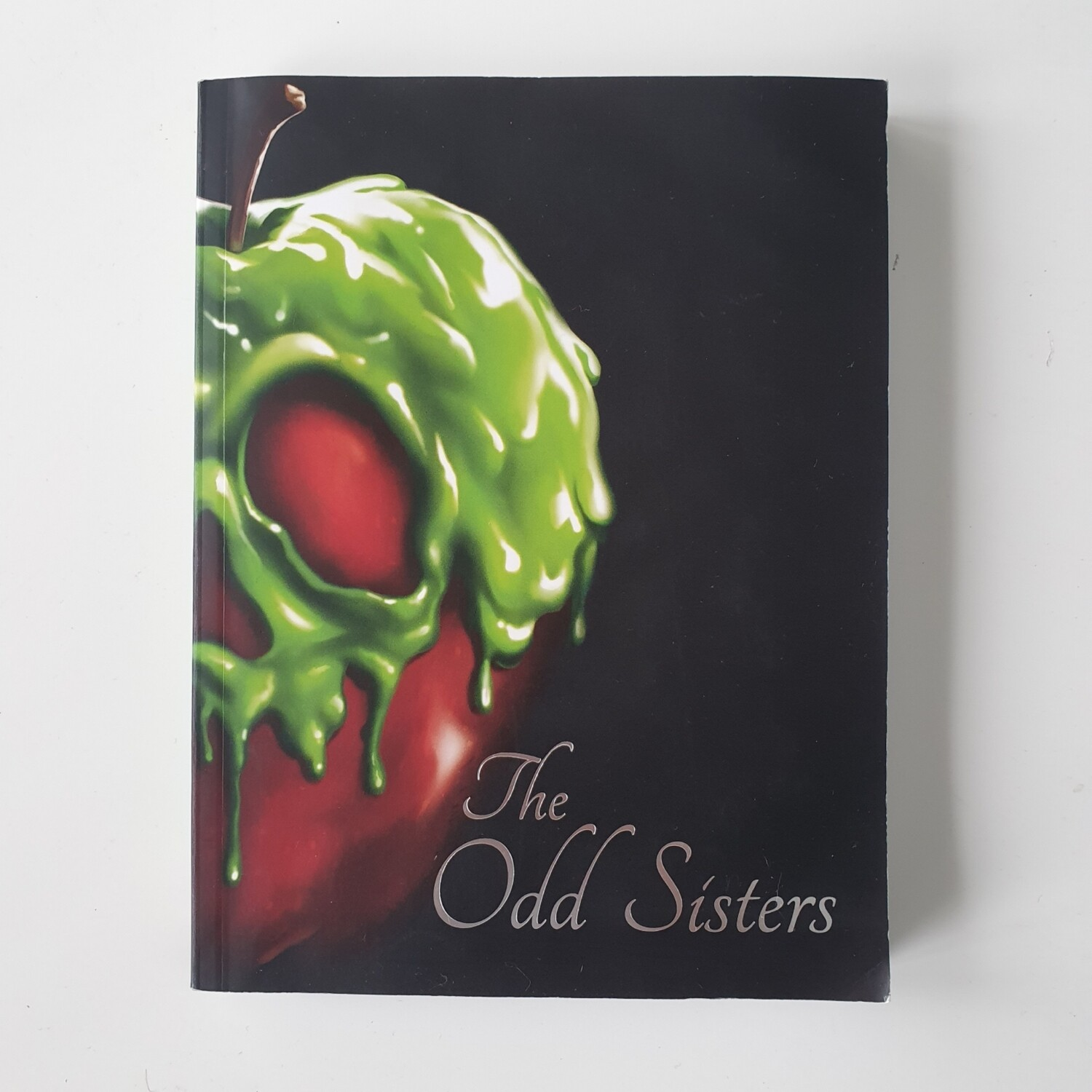 Disney Twisted Tale - The Odd Sisters - Snow White Notebook - made from a paperback book