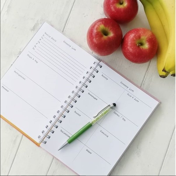Grocery / Shopping List book