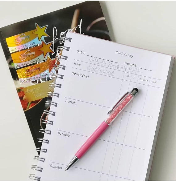 Slimming World Food Diary