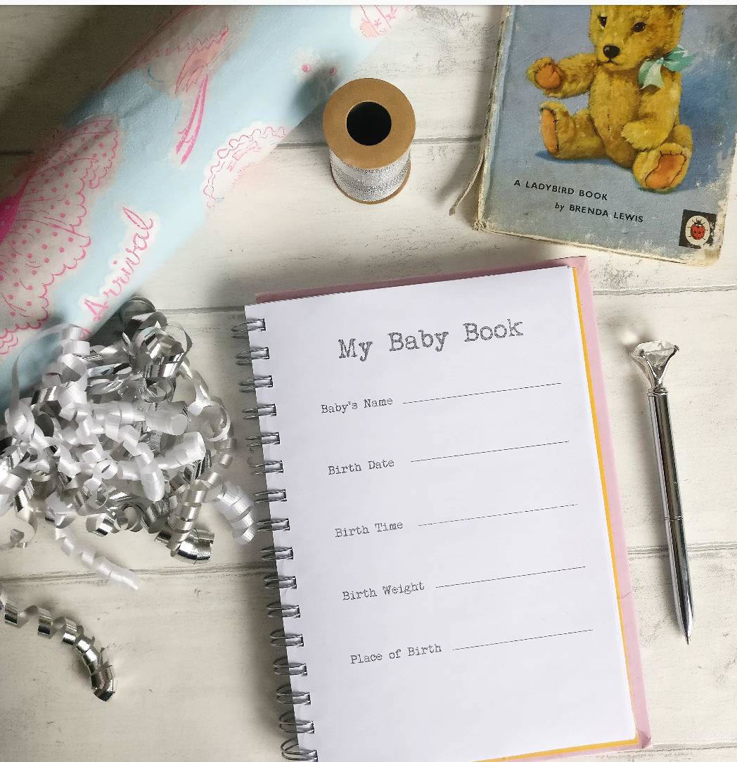 Baby Record Book / Baby Book