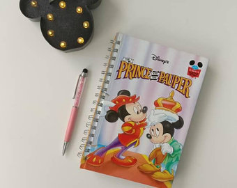 Prince & The Pauper - Mickey Mouse Notebook