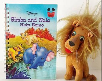 Lion King Notebook - Simba and Nala