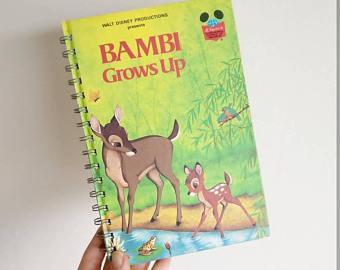 Bambi Grows Up Notebook