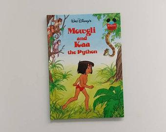 Jungle Book Notebook - Mowgli & Kaa the Python