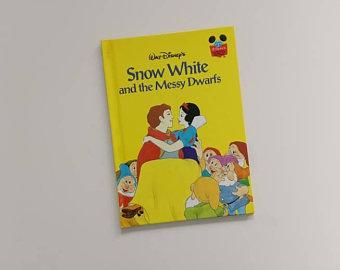 Snow White Notebook - The Messy Dwarfs