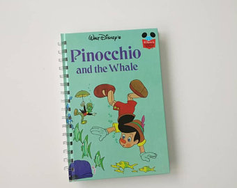 Pinocchio Notebook - The Whale