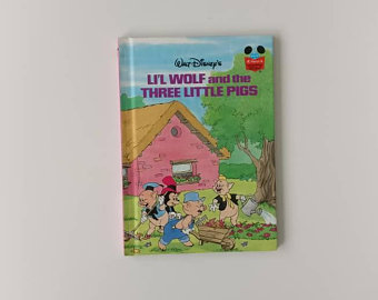 Lil Wolf & The Three Little Pigs Notebook