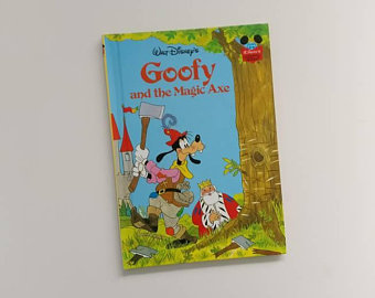 Goofy Notebook - and the Magic Axe
