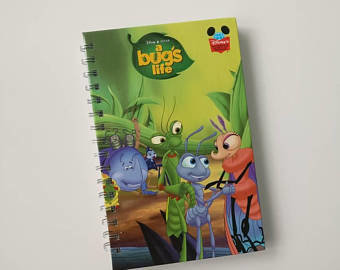 A Bugs Life Notebook