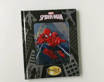 Spiderman Notebook - 3D enamel cover