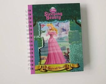Sleeping Beauty Notebook - Lenticular Print