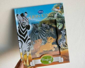 Lion King Notebook - Lenticular Print - no original pages