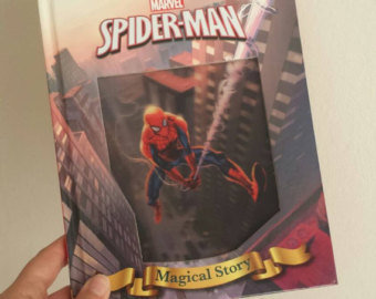 Spiderman Notebook - Lenticular Print - No original pages