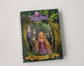 Tangled Notebook - Lenticular Print - no  original pages
