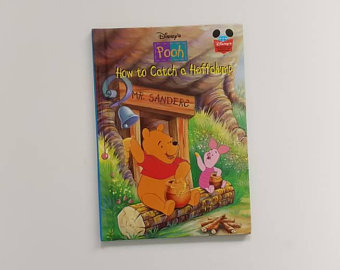 Winnie the Pooh Notebook - How to Catch a Heffalump