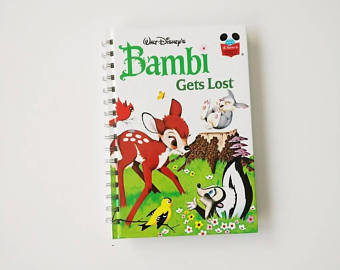 Bambi Notebook - Gets Lost