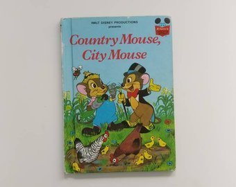 Country Mouse, City Mouse Notebook