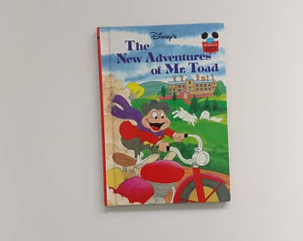 The New Adventures of Mr Toad Notebook Wind in the Willows