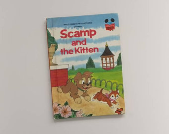 Lady & The Tramp Notebook - Scamp & The Kitten