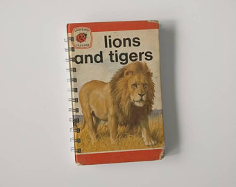 Lions & Tigers Notebook
