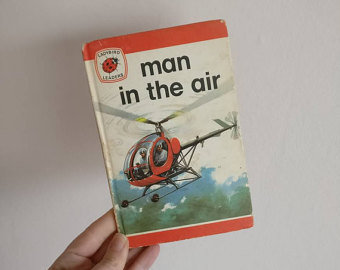 Helicopter Notebook - Man in the Air
