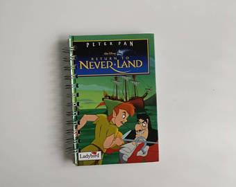 Peter Pan Notebook - Neverland