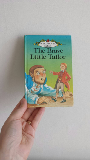 The Brave Little Tailor Notebook
