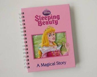 Sleeping Beauty Notebook - no original book pages