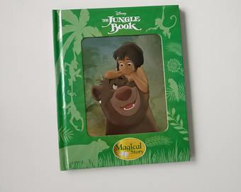 Jungle Book Notebook - 3D enamel cover