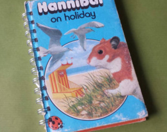 Hannibal the Hamster Notebook - on holiday