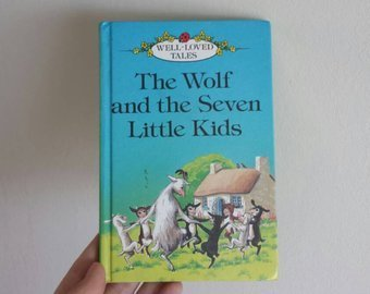 Wolf & the Seven Little Kids Notebook
