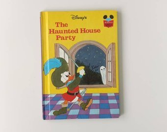 Donald Duck  Notebook - Haunted House Party
