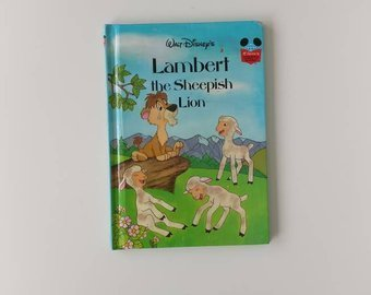 Lambert the Sheepish Lion Notebook