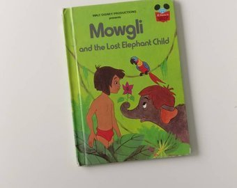 Jungle Book Notebook - Mowgli & the Lost Elephant Child