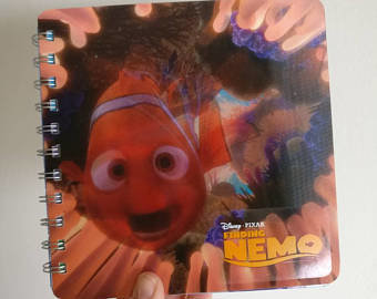 Finding Nemo Animated Notebook - Moving Lenticular Print