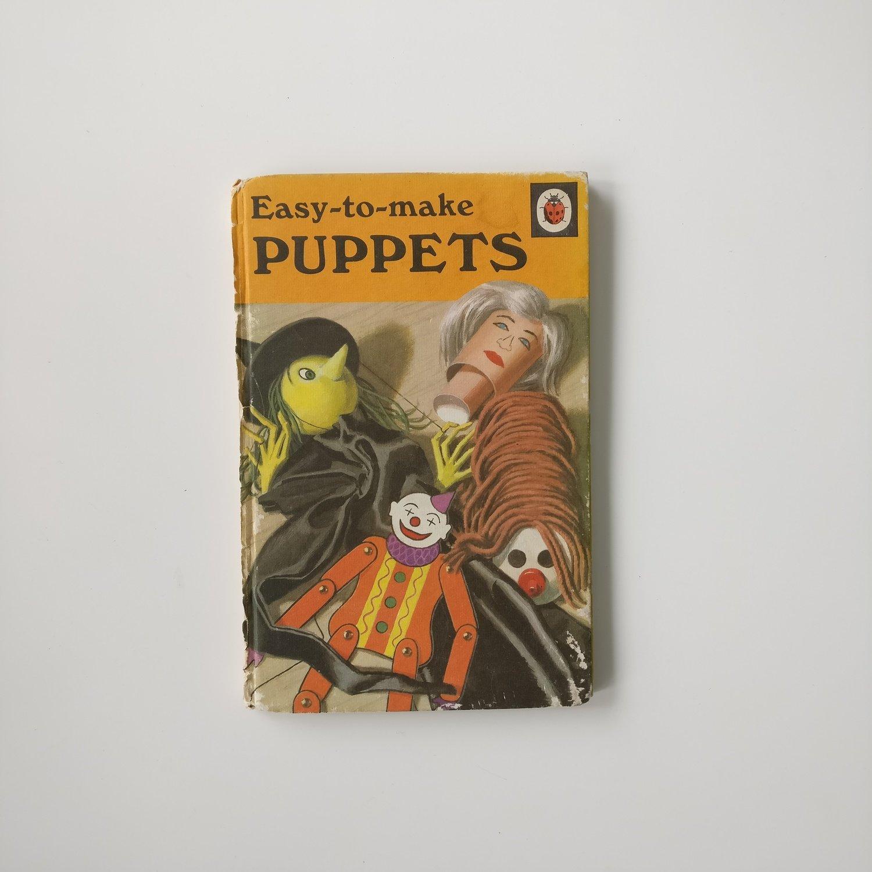 Puppets Notebook -  school / teacher