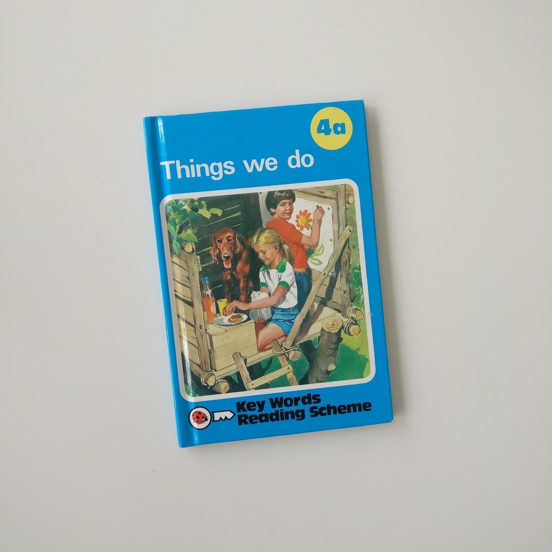 Things We Do Notebook -  school / teacher - Peter & Jane