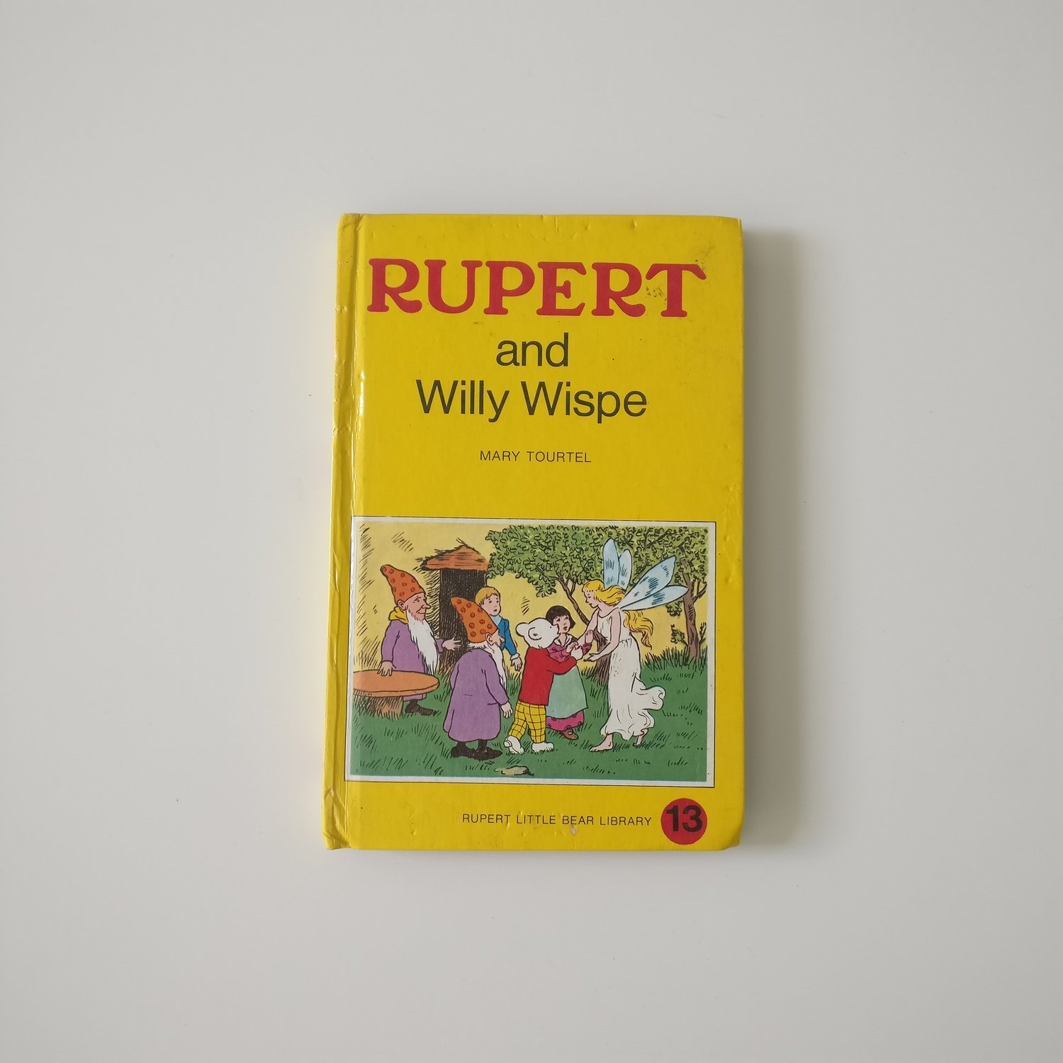Rupert the Bear Notebook - Willy the Wispie