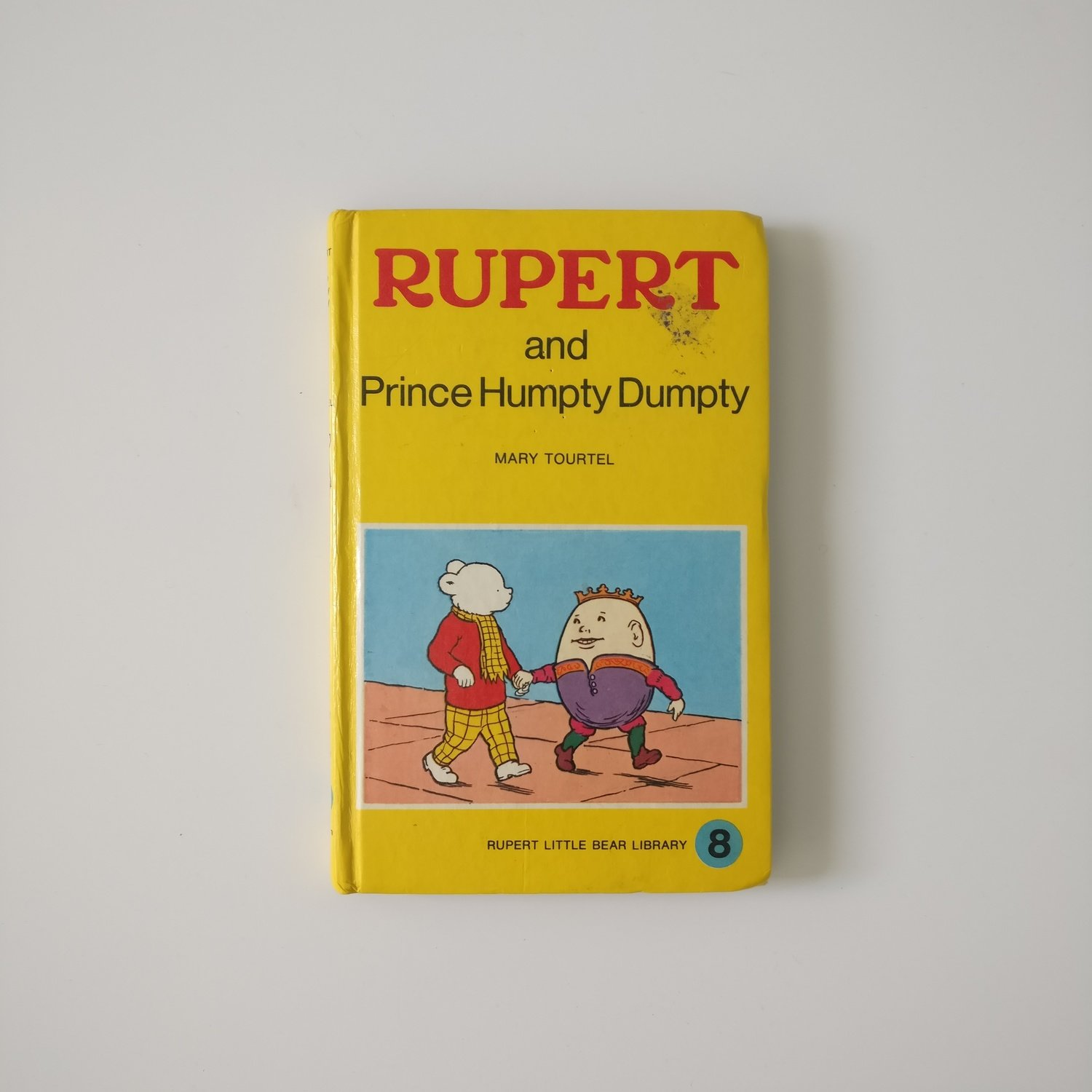 Rupert the Bear Notebook - and Prince Humpty Dumpty