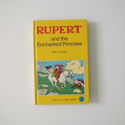 Rupert the Bear Notebook - and the enchanted princess